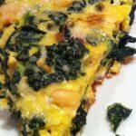 Pancetta, Kale, and Parmesan Frittata