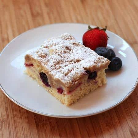 Red White  Blueberry Crumb Cake 5