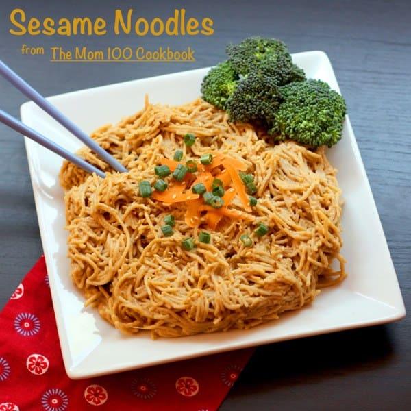 Sesame Noodles Mom 100 caption