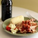 Slow Cooker Root Beer Pulled Pork for #BeatTheHeat #SundaySupper