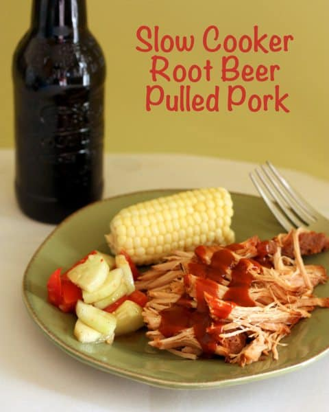 Slow Cooker Root Beer Pulled Pork 8