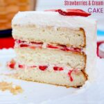 Strawberry and Cream Cake Recipe
