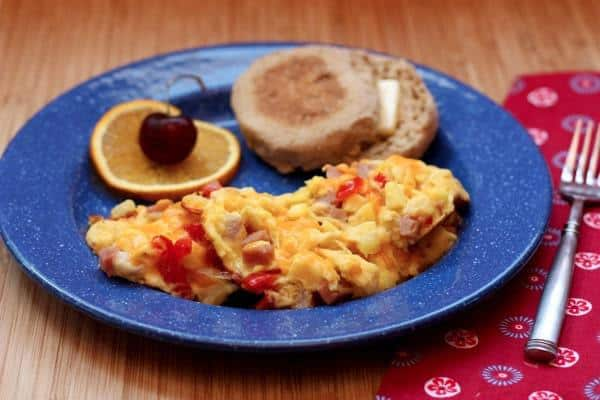 Hawaiian Scrambled Eggs 2