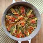 Julia Child's Ratatouille for #SundaySupper as we #CookForJulia