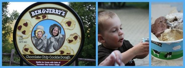Ben and Jerrys Collage