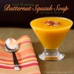 Soul Warming Butternut Squash Soup for #SundaySupper – #HelpingHands for #HurricaneSandy Relief