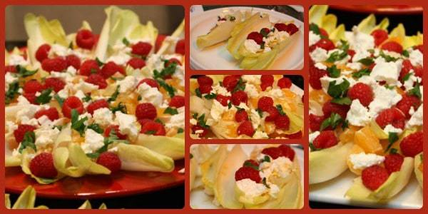 Endive Salad Collage
