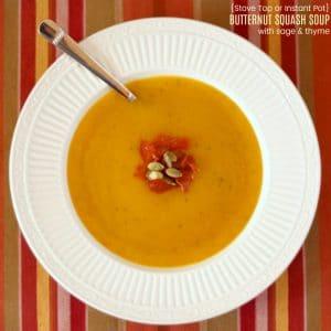 Easy Butternut Squash Soup Recipe