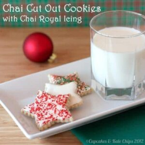 Chai Cut Out Christmas Cookies