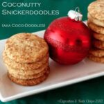 Coconut snickerdoodles (Coco Doodles) are a combination of two classic Christmas cookie recipes - coconut macaroons and snickerdoodle cookies!