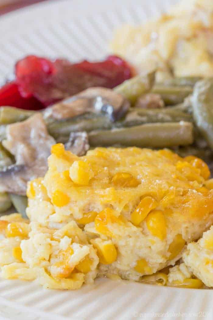 How to Make Corn Pudding - a family favorite side dish recipe for the holidays.