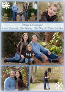 Our Family Christmas Card