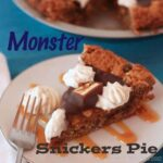 Monster Snickers Pie