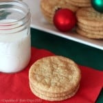 Crispy Snickerdoodle Cookies {For My Dad}