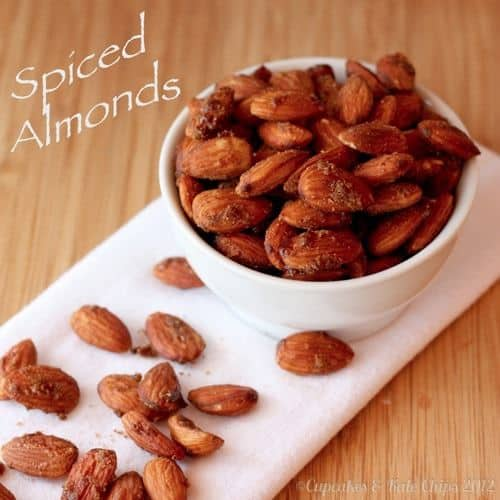 Spiced Almonds | Cupcakes  Kale Chips 2012 | 2 title wm