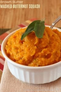 Brown Butter Mashed Butternut Squash Recipe