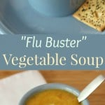 """Flu Buster"" Vegetable Soup"