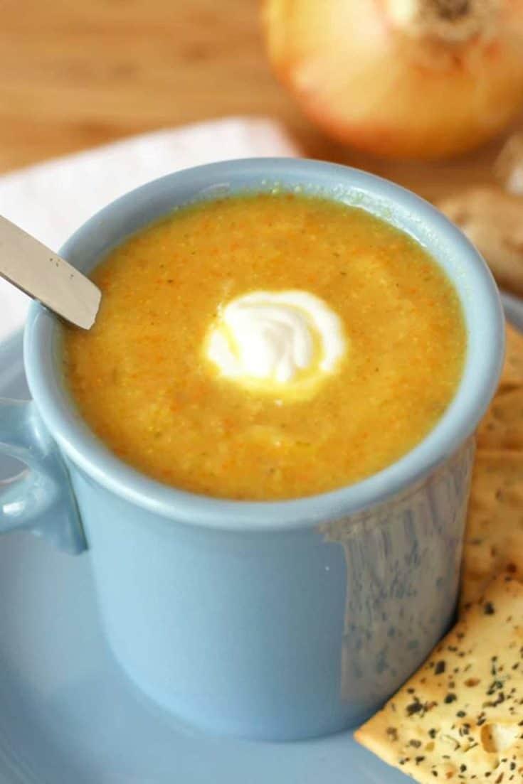 Flu-Buster Vegetable Soup