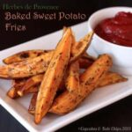 Herbes de Provence Baked Sweet Potato Fries