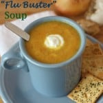 "Mama Mondays – Vegetable ""Flu Buster"" Soup for #RecipeRedux"
