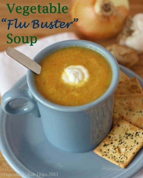 Vegetable Flu Buster Soup