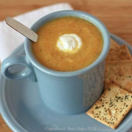 Flu Buster Vegetable Soup