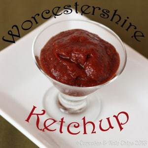Worcestershire ketchup is a homemade, gluten free condiment that is better than anything you will ever buy at a grocery store. | @cupcakekalechip