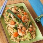 Cauliflower Fried Rice for a Skinny #SundaySupper
