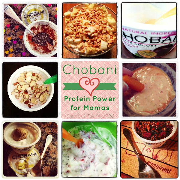 Mama Mondays - @Chobani Greek Yogurt Protein Power for Mamas | #tastereal