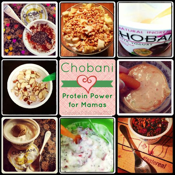 Mama Mondays - @Chobani Greek Yogurt Protein Power for Mamas | #tastereal