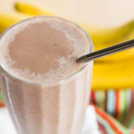 Chocolate Peanut Butter Banana Smoothie Funky Monkey Smoothie