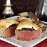 "Individual Beef ""Phyllingtons"" for #ValentinesDay #SundaySupper"
