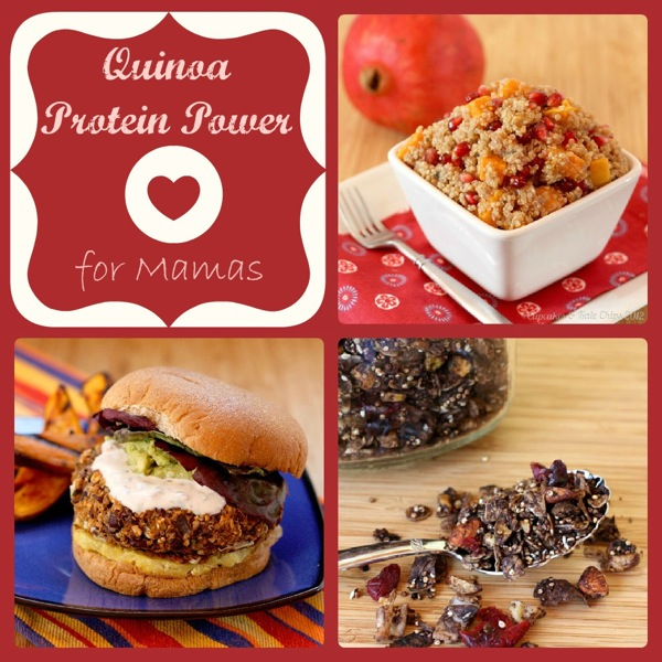 Mama Mondays - Quinoa Protein Power for Mamas - Cupcakes & Kale Chips