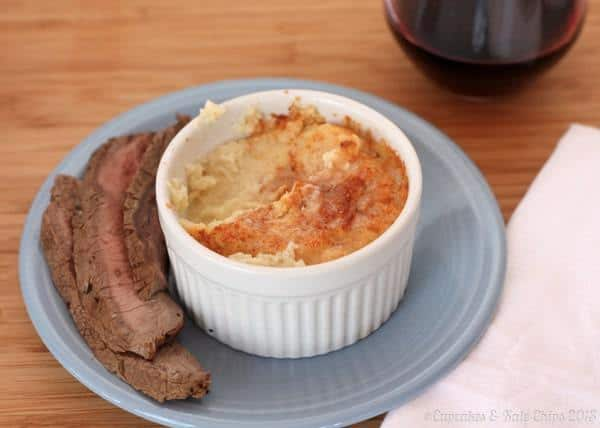 Whipped Cauliflower Gratin