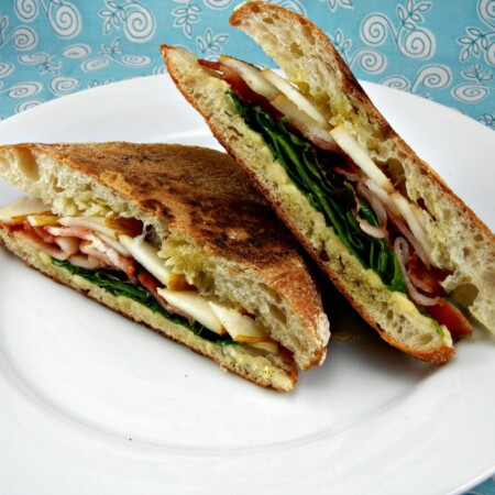 Bacon, Pear & Smoked Gouda Panini – Guest Post from The Tasty Fork