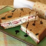 This grilled cheese recipe has it all with sliced strawberries, whipped feta, and balsamic.