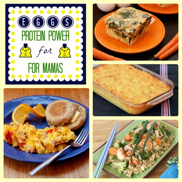 Mama Mondays - Eggs Protein Power for Mamas - Cupcakes & Kale Chips