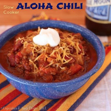 Slow Cooker Aloha Chili