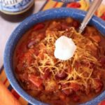Slow Cooker Aloha Chili for #WeekdaySupper