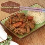 Slow-Cooker Mongolian Beef Stew – March #ImprovChallenge