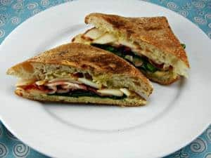 Tasty Fork Recipe - Bacon, Pear & Smoked Gouda Panini