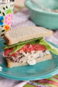 Sandwich with Easy Chicken Salad