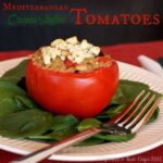Mediterranean Quinoa Stuffed Tomatoes with @FloridaTomatoes