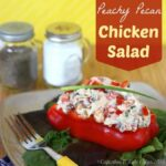 Peachy Pecan Chicken Salad – July #ImprovChallenge