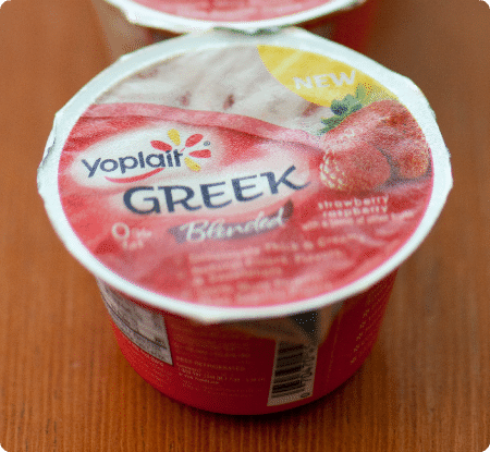 Yoplait Greek Strawberry Raspberry