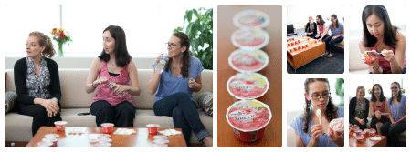 Yoplait Greek Taste Test 1 Collage