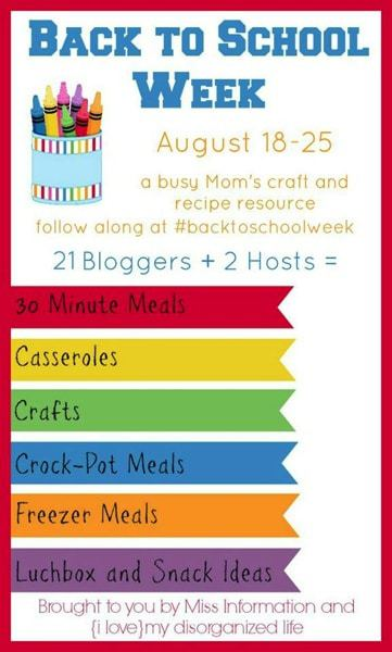 BacktoSchoolWeek Graphic