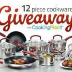 Cooking Planit & T-Fal 12 Piece Cookware Giveaway!