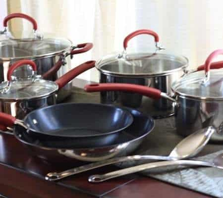 Mama Monday: T-fal Stainless Steel & Non-Stick Cookware Review