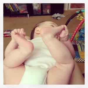 Peyton feet